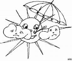 Gratis Malvorlagen Regenschirm Sonne Mit Regenschirm Ausmalbild Malvorlage Phantasie