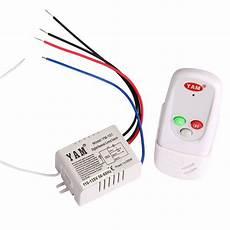 1 way port 110v led light digital wireless wall switch with remote control new ebay