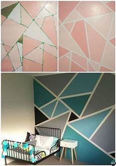 12 Diy Patterned Wall Painting Ideas And Techniques