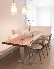 esstisch holz hell dining nook with banquet and rustic light wood table