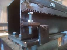 pignone cremagliera diy progetti cnc in ferro 8 montaggio cremagliere