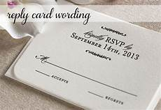 Answer To Wedding Invitation