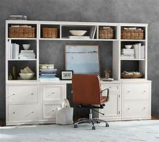 pottery barn home office furniture pottery barn logan small office suite with file cabinets