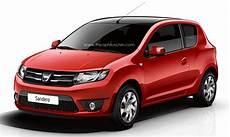 New Dacia Sandero 3 Door Rendered