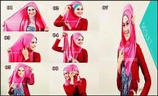 Cara Memakai Model Jilbab Pasmina Bahan Kaos 2017