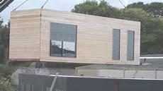 Construction Maison Conteneur Maison Container Goliat Mise En Place De La Premi 232 Re