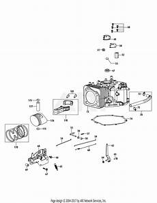 Mtd 4p90hua Engine Parts Diagram For 4p90hua Crankcase