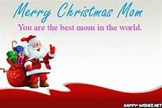 merry christmas wishes for mom quotes messages