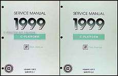 auto repair manual online 1999 buick park avenue parking system 1999 buick park avenue shop manual 2 volume set 99 repair service books ebay