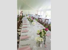Unique Pink Backyard Wedding in New Hampshire