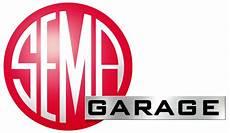 garage logo sema news sema