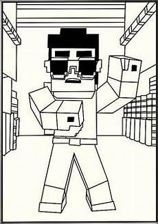 Minecraft Malvorlagen Terbaik Steve From Minecraft Coloring Page M 229 Larbilder F 246 R Barn
