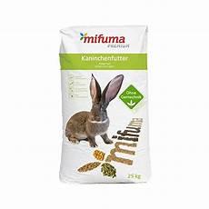 kaninchenfutter mifuma kombi 25 kg kaninchenfutter