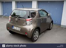 Toyota 2 Sitzer - 2 seater toyota iq car stock photo royalty free image