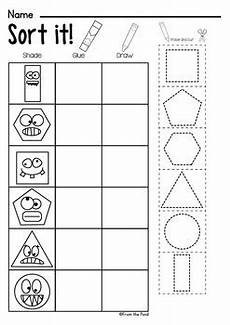 identifying shapes worksheets 1149 shapes worksheet packet busy work for 2d shapes by from the pond