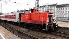 Db V60 Rangiert In Hamburg Altona Den Nachtzug Hd