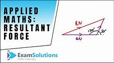 how to find resultant two forces mechanics