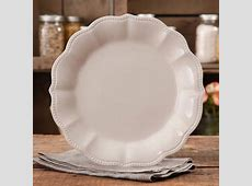 The Pioneer Woman Paige Crackle Glaze Dinner Plate, Linen
