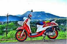 Modifikasi Yamaha Fino Injeksi by 30 Gambar Modifikasi Yamaha Fino Gaya Road Race Otomotif