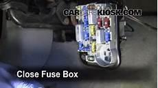Interior Fuse Box Location 1990 1994 Ford Tempo 1993