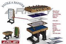 table multi jeux 12 en 1 billard baby foot air hockey ping