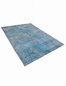 vintage teppich blau vintage teppich blau 277 x 164