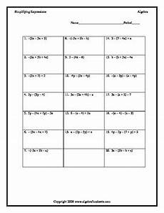 combining like terms with distributive property negative signs worksheet