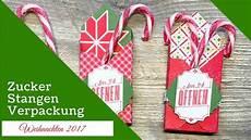 basteln f 252 r weihnachten 1 zuckerstangen verpackung