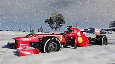 f1 car in snow merry christmas youtube