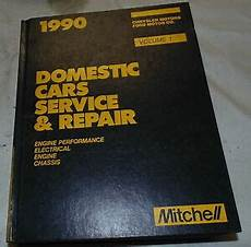 electric and cars manual 1990 ford e series security system mitchell domestic cars service repair manual 1990 ford chrysler electric ebay