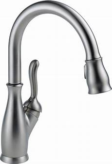kitchen faucet delta faucet 9178 rb dst leland single handle pull kitchen faucet with magnetic