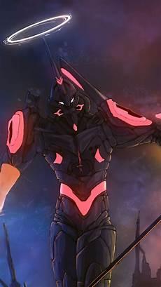 Ultra Hd Neon Genesis Evangelion Phone Wallpaper エヴァンゲリオン 壁紙 4k irasutoye