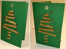 Malvorlagen Tannenbaum Selber Machen Basteln Tonpapier Weihnachtskarte Selber Machen