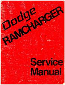 service and repair manuals 1993 dodge ramcharger head up display used dodge ramcharger 1974 service manual