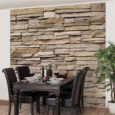 Non Woven Wallpaper Premium Asian Stonewall Wall