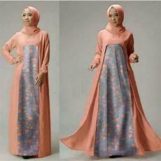 baju setelan gamis muslim terbaru dan modern ryn fashion