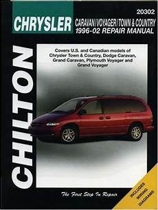 online car repair manuals free 2002 chrysler voyager on board diagnostic system chrysler caravan voyager town country 1996 2002 repair manual haynes repair manuals at virtual