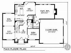 2 story traditional house plans beautiful 2 story traditional home plan 89489ah