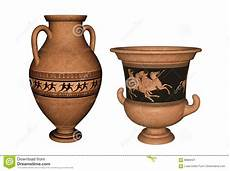 antichi vasi greci vasi greco antico rappresentazione 3d illustrazione