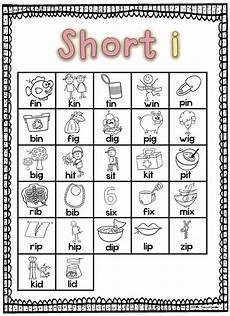 short i word family teaching short i to kindergarten and first grade students is fun and easy