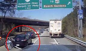 Car Crash Video Highlights The Dangers Of Tailgating