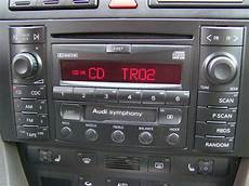 99 01 audi a4 s4 b5 symphony bose radio cd player