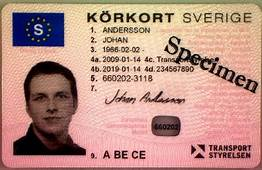 Driving Licence In Sweden  Wikipedia