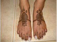 15 Best Eid Mehndi Design For Feet 2011   YusraBlog.com