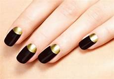 50 half moon nail art designs to try 187 ecstasycoffee