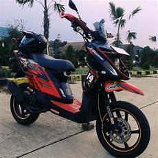 X Ride 125 Modif Supermoto by 30 Gambar Modifikasi X Ride Ala Supermoto Paling Tangguh