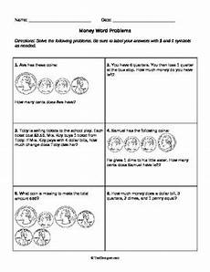 money problem worksheets for 2nd grade 2430 money word problems grade 2 common 2 md c 8 by help teaching