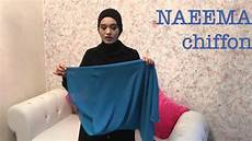 Tutorial Naeema Chiffon Instant Shawl