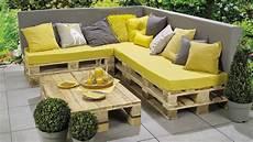 fabriquer un banc de jardin banc lounge et table en palettes etape par 233 pour les makers