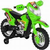 6V Electric Kids Ride On Motorcycle Dirt Bike W/ Training